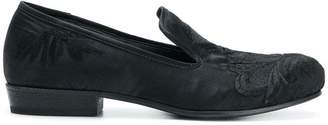 Ann Demeulemeester embroidered loafers