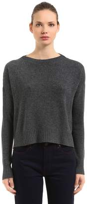 Prada Cropped Wool & Cashmere Sweater