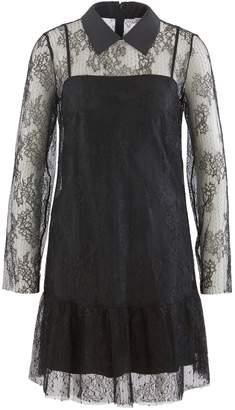 RED Valentino Short silk dress