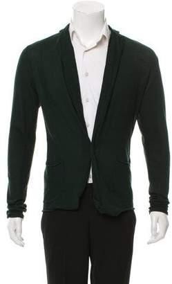 Kolor Woven Button-Up Cardigan