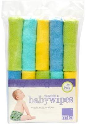 MIO Bambino Reusable Baby Wipes (10 Pack)