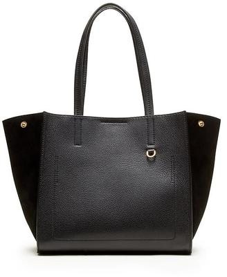 Pebbled Italian Leather Tote $188 thestylecure.com