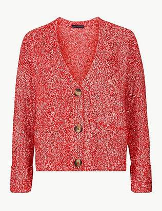 Marks and Spencer Textured Cardigan