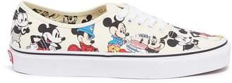 Vans x Disney 'Authentic Mickey's Birthday' print canvas sneakers
