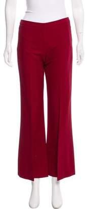 Giamba Mid-Rise Wool-Blend Pants