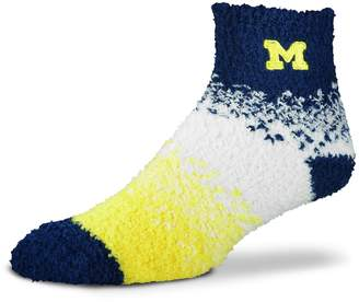 For Bare Feet Women's Michigan Wolverines Marquee Sleep Socks
