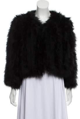Jocelyn Fifi Feather Jacket