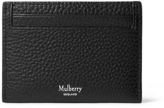 Mulberry Full-Grain Leather Cardholder - Black
