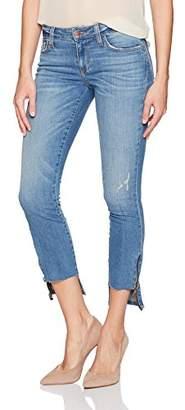 Siwy Women's Ciara Low Rise Hem Zip Skinny