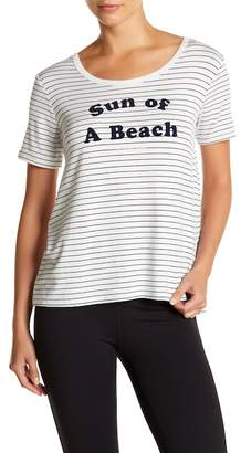 Betsey Johnson Sun of a Beach Stripe Tee