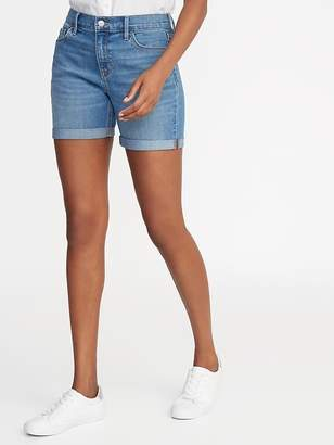 Old Navy Mid-Rise Denim Shorts for Women -- 5-inch inseam