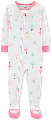Carter's Carter Toddler Girls Ballerina Pajamas