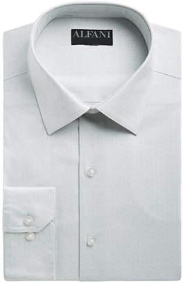 Alfani Men Slim-Fit Performance Stretch Striped Box Dress Shirt