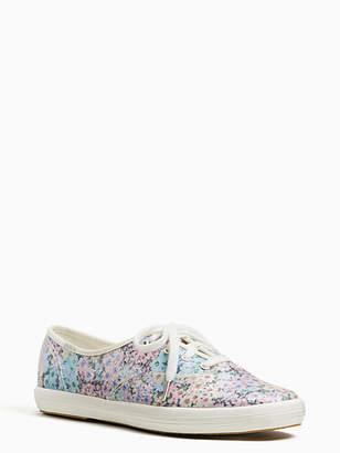 Kate Spade Keds x champion daisy garden glitter sneakers