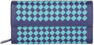 Bottega Veneta Two Tone Intrecciato Wallet
