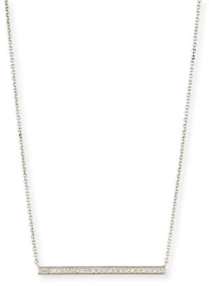 Sydney Evan Medium Diamond Bar Necklace