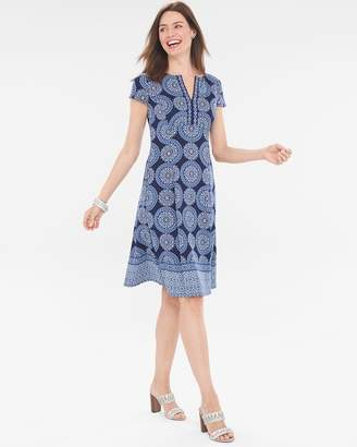 Chico's Chicos Medallion Geometric Dress
