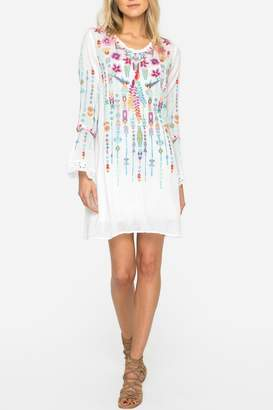 Johnny Was Lulu Embroidered Tunic