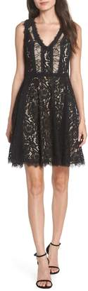 Heartloom Sienna Lace Fit & Flare Dress