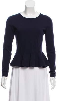 Alaia Wool Peplum Sweater