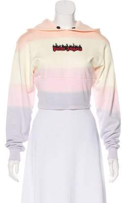 Palm Angels Hood Long Sleeve Sweatshirt