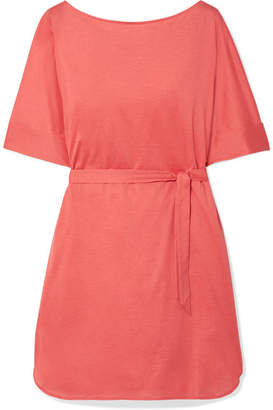 Eres Les Essentiels Cesar Cotton-jersey Mini Dress - Coral