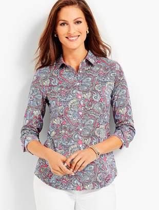 Talbots The Perfect Shirt - Resort Paisley