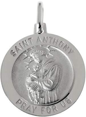 Anthony Logistics For Men Ultrafine UltraFine Silver Saint Pendant
