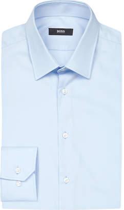 Boss Black Formal Hugo Boss Slim-fit cotton shirt