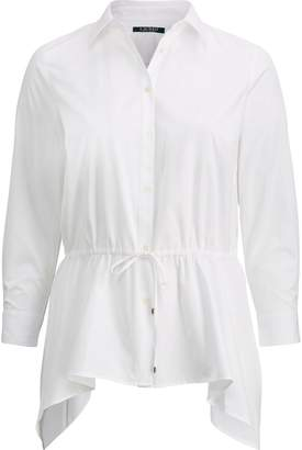 Ralph Lauren Cotton Fit-and-Flare Shirt