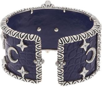 Barbara Bixby Sterling Silver 18K Gold Horoscope Cuff