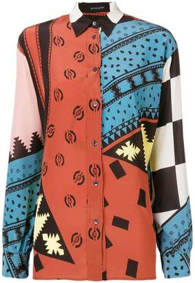 Etro all-over printed classic shirt