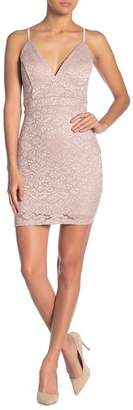 Love, Nickie Lew Lace Bodycon Cocktail Dress
