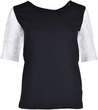 Fabiana Filippi See-Through Shoulder T-Shirt