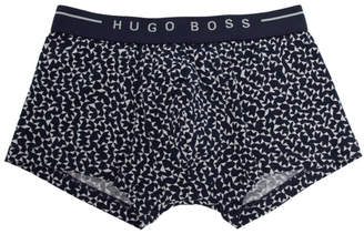 BOSS Blue and White Iconic Boxer Briefs