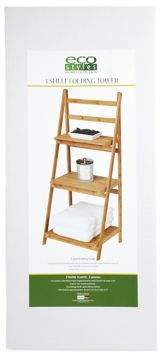 Creative Bath Three-Shelf Folding Tower