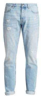 Brunello Cucinelli Lightweight Distressed Jeans