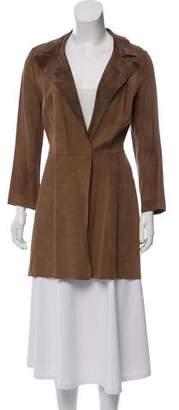 Marni Knee-Length Suede Coat