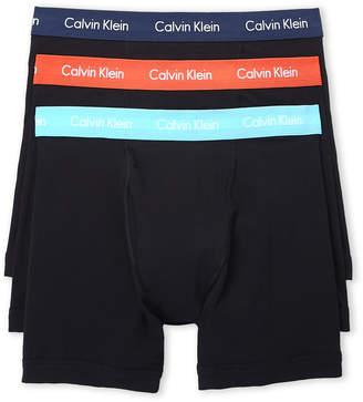 Calvin Klein 3-Pack Classic Stretch Boxer Briefs