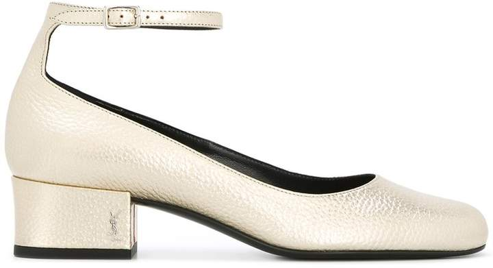 Saint Laurent Babies ankle strap pumps