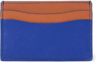 Ralph Lauren Grain Calfskin Card Case