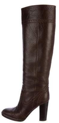 MICHAEL Michael Kors Leather Brogue Boots