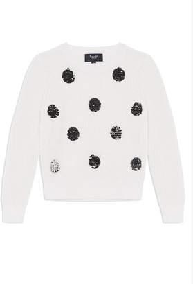 Bardot Flippy Sequin Spot Sweater, Size 8-16