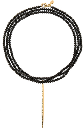 gorjana Nora Beaded Long Necklace $85 thestylecure.com
