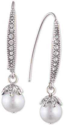 Marchesa Pavé & Imitation Pearl Drop Earrings