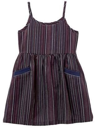 Splendid Stripe Tank Dress (Toddler Girls & Little Girls)