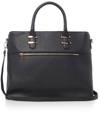 Tu clothing Black Back Multi Compartment Tumble Bag