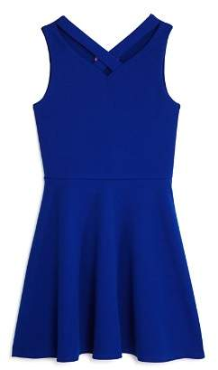 Aqua Girls' Cross Front Dress, Big Kid - 100% Exclusive