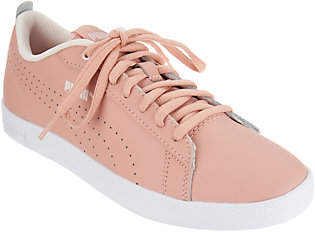 Puma Leather Court Sneakers- Smash Perf
