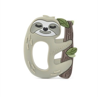 Loulou Lollipop Silicone Teether SINGLE Sloth